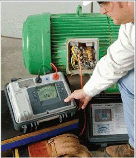 الهدف من الموضوع هو التعلم على كيفية استخدام جهاز الميجر لقياس مقاومة العزل في آلة كهربائية للتأكد من جودة ا Basic Electrical Circuit Gaming Products Circuit