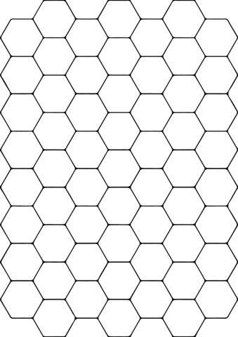 Pin By Jeanette Brinkerhoff On Bari Hexagon Pattern Pattern Coloring Pages Coloring Pages