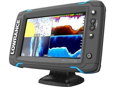 Ad Ebay Lowrance Elite 7 Ti Gps Fish Finder With Mid High Downscan 000 12417 001 Fish Finder Gps Fun Sports