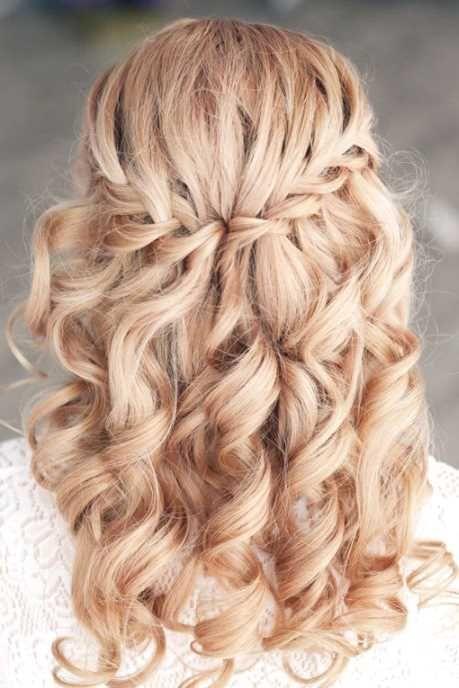 Halb Hochsteckfrisuren Mittellanges Haar Haar Halb