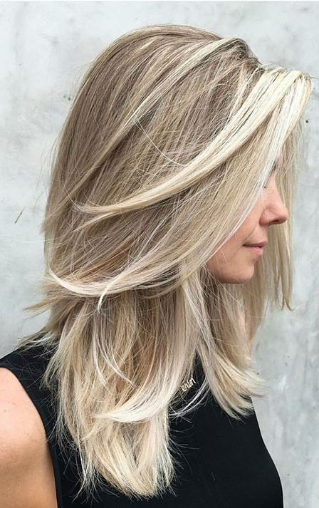 Medium Length Hair With Layers Hair Styles Long Thin Hair Long Hair Styles