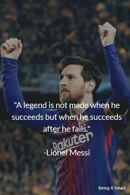 Beste 40 Lionel Messi Zitate Uber Leben Erfolg Uber Nacht Fussball Sport Und Traume Successful People Quotes Beste