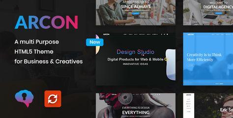 Arcon — Creative Multi-Purpose HTML Template | Stylelib