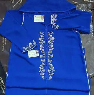 الأزرق ملكي لون المفضل عند بزاف ديال النساء وهادو بعض الموديلات Morocco Fashion Mens Tops Moroccan Style