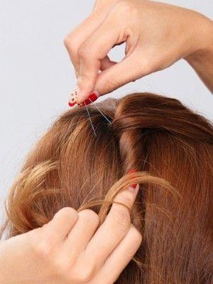 Uピン アメピンの正しい使い方と髪の留め方 髪 ピン アメピン