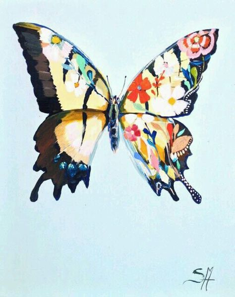 Artedemo Adli Kullanicinin Kelebek Konulu Calismalar Butterfly