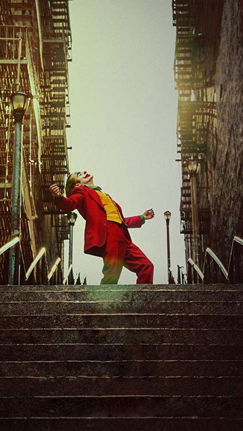 Joker movie poster mobile wallpaper