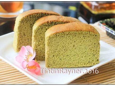 Resep Castella Green Tea Aka Kasutera Traditional Japanese Honey Cake Oleh Tintin Rayner Resep Makanan Enak Resep Makanan