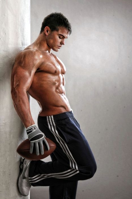 #muscles and #football