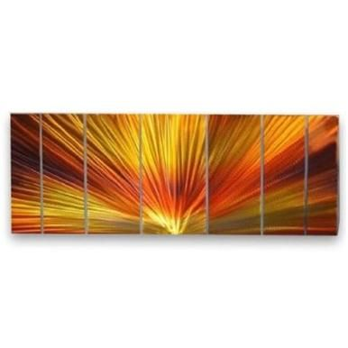 All My Walls Swl00010 Metal Wall Sculpture By Ash Carl Furniture Abstract Metal Wall Art Sunburst Wall Art