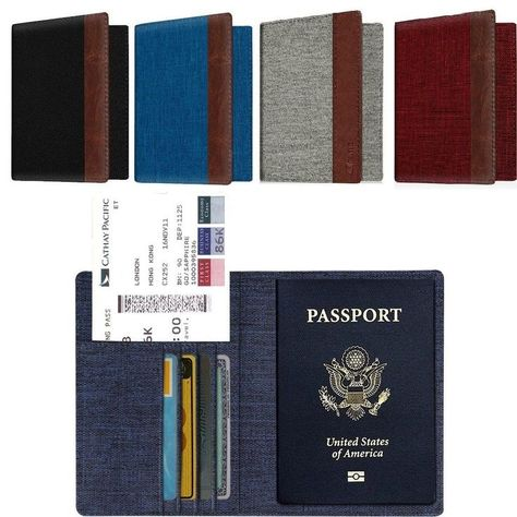 InventCase PU Leather Passport Case Cover for Hong Kong Passports