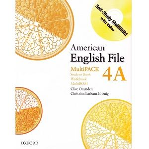 American English File 4a Student Book Workbook Com Imagens