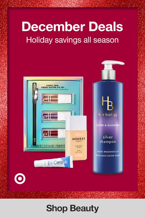 Holiday sales on beauty all December! Find deals on makeup, skincare products  Christmas gift ideas for Mom, Dad  friends for a special surprise.
