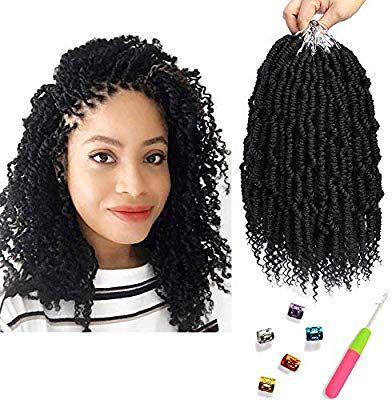 Bomb Twist Crochet Hair 6 Packs 10inch Spring Twist Braiding Hair Passion Twist Hair Pre Looped Croc In 2020 Spring Twist Hair Twist Hairstyles Pre Looped Crochet Hair