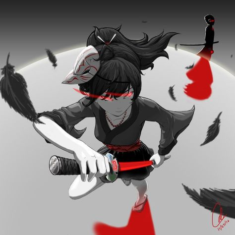 This is my own personal take on Raven Branwen from RWBY.