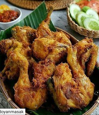 Ayam Goreng Tulang Lunak Resep Masakan Masakan Asia Masakan