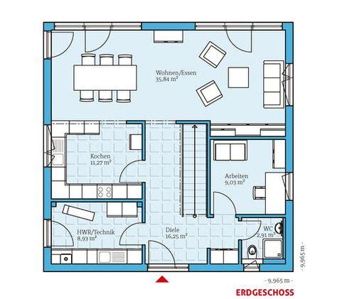 Einfamilienhaus Cubus 167 Von Hanse Haus Fertighaus De In 2020 Haus Hanse Haus Und Fertighauser