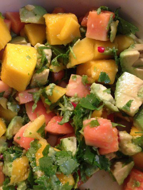 Sjukt god mangosalsa till grillen – matmania