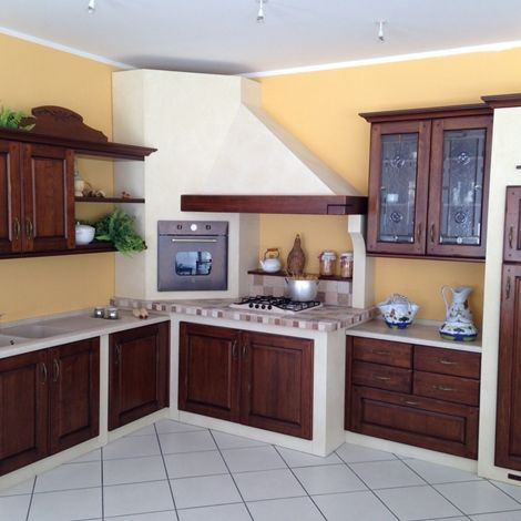 Cucina Muratura Angolo Arrex Gloria | Cucina nel 2019 ...