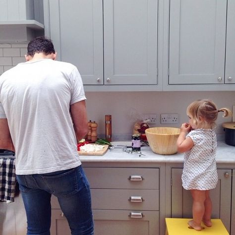 I want a husband who will do this with our daughter