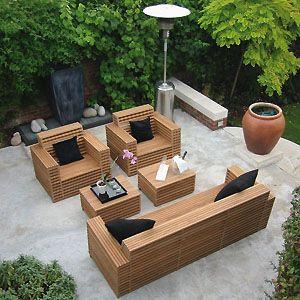 Outdoor Sofa Grey Google Search Wood Furnituregarden