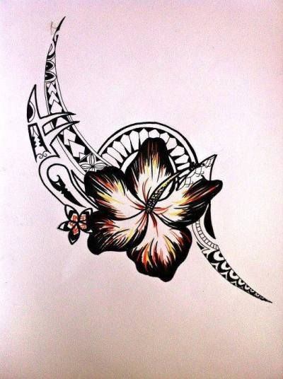 Tattoo Trends – ♢ In love with the flower more than anything. Tribal tattoo with flower… - awesome Tattoo Trends – ♢ In love with the flower more than anything. Tribal tattoo with flower - Tribal Tattoo Designs, Tribal Flower Tattoos, Cool Tribal Tattoos, Tribal Tattoos For Women, Hawaiian Tribal Tattoos, Samoan Tribal Tattoos, Great Tattoos, Star Tattoos, Body Art Tattoos