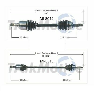 SurTrack TO-8012 Axle Shaft
