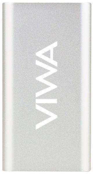 Viwa Vpb10000 Power Bank For Smart Phones 10000mah Silver Powerbank Smartphone Power