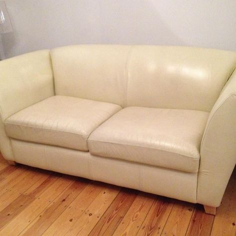 3 Seater Cream Leather Sofa Also A Sofa Bed On Gumtree Cream Leather 3 Seater Sofa Bed Genuine Leather Bought It From With Images Cream Leather Sofa Leather Sofa Sofa