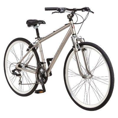 Schwinn Men S Trailway 28 700c Hybrid Bike Bronze Multi Colored Hybrid Bike Schwinn Comfort Bike