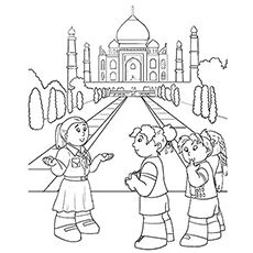 Top 10 Free Printable India Coloring Pages Online Coloring Pages Earth Day Coloring Pages Page Online