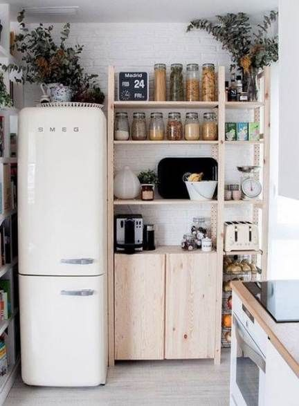 Kitchen Retro Wood Smeg Fridge 38 New Ideas In 2020 Home Home