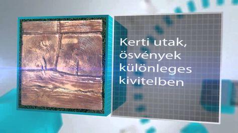Egyedi kerti utak, ösvények   http://www.kreativko.hu/