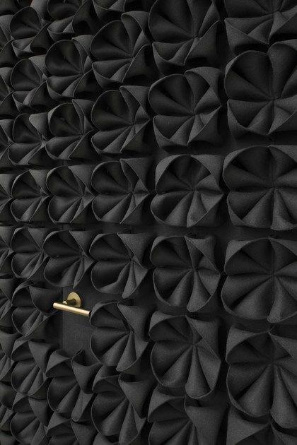 Wool Felt Decorative Acoustical Panel Dani Wool Felt Decorative Acoustical Panel By Anne Kyyro Quinn Acoustic Panels Acoustic Wall Paneling