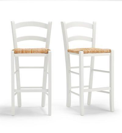 La Redoute Interieurs Lot De 2 Chaises De Bar Mi Hauteur Perrine En 2020 Chaise Bar Tabouret Et Chaise