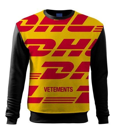 Bluza Dhl Vetements Supreme Ftp Size S Sweatshirts Vetements Shirts