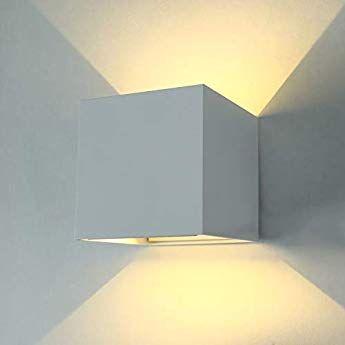 LED Wandleuchte Wandlampe Strahler Spot Flurlicht Wohnzimmer Beleuchtung Schwarz