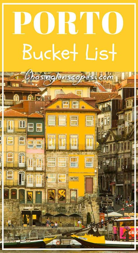 Porto- A Perfect Weekend Getaway