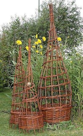 Augenweide Startseite Weiden Flechten Weidengeflecht Garten