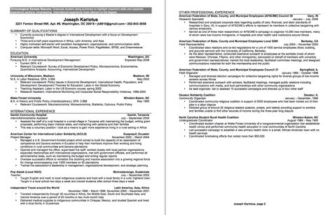 Undergraduate Sample CV - http\/\/resumesdesign\/undergraduate - clinical dietitian resume