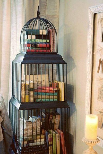 birdcage book storage