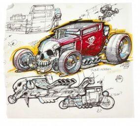 Bone Shaker Hot Wheels Wiki Fandom In 2020 Bone Shaker Hot Wheels Races Hot Wheels