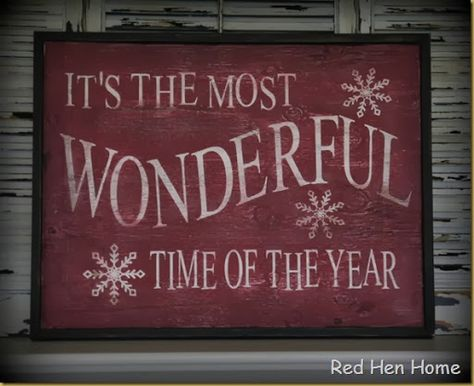 Red Hen Home: Checking In / Christmas Signs | Christmas ...