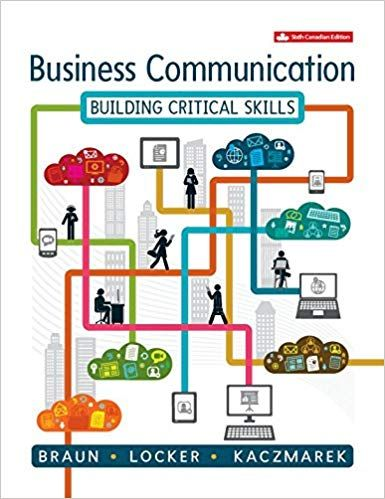 Test bank for Business Communication Building Critical