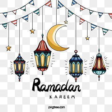 عناصر مهرجان رمضان في نمط الخط الكرتون القمر رمضان فانوس Png وملف Psd للتحميل مجانا In 2021 Ramadan Images Ramadan Cartoon Styles
