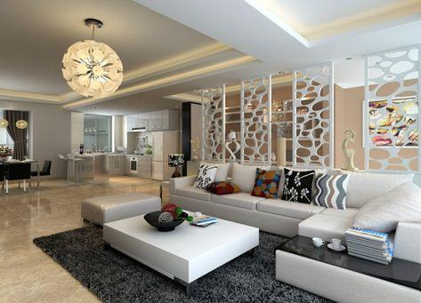 Design wohnzimmer  Wohnzimmer Design Ideen für ein stimmungsvolles Ambiente ...