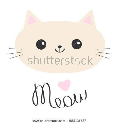 Image by Shutterstock I Love Cats Black And White Cat Long Sleeve Women/'s