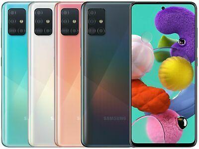 Samsung Galaxy A51 A515f L 128gb 4gb Ram Black Blue White Pink Factory Unlocked Samsung Galaxy Samsung Dual Sim