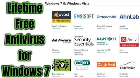 lifetime free antivirus for windows