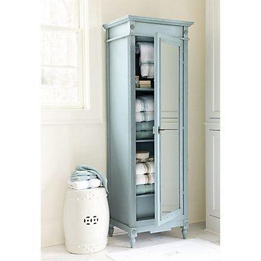 Casa Florentina Brandisi Armoire With Mirrored Door Custom Mirrored Armoire Armoire Wooden Armoire
